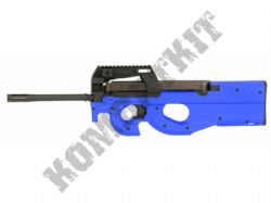 CM060A P90 PDW Replica AEG Electric Airsoft BB Machine Gun 2 Tone Blue Black